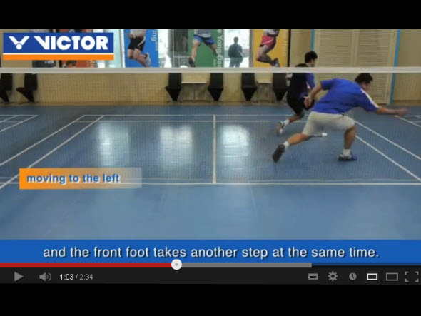 Basic footwork 2 : six point footwork-footwork for moving left and right