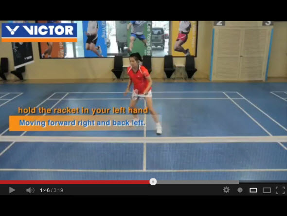 Basic footwork 3 : six point footwork-footwork for moving diagonally